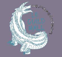Monster Hunter Le Guild Hall-ZinogreVersion 1 Uncolored Kids Tee