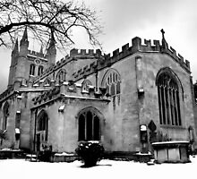 St Nicholas In The Snow. by Samantha Higgs