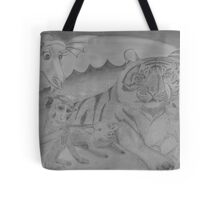 Family Portrait - in the year of the snake Tote Bag