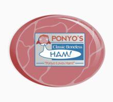 Ponyo's Ham Kids Clothes