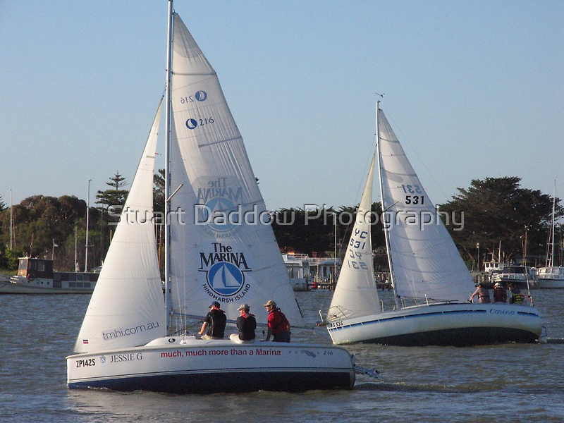 Much, much, much more than a yacht race by Stuart Daddow Photography