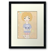 Cats! Framed Print