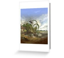Cthulhu Britannica Greeting Card