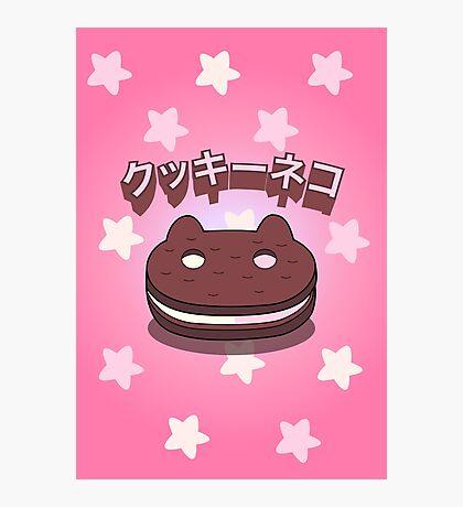 Steven Universe - Cookie Cat (Japanese) Photographic Print