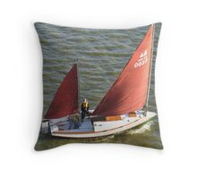 Two Masts are Better than One Throw Pillow