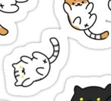 Neko Atsume Sticker Sheet Sticker