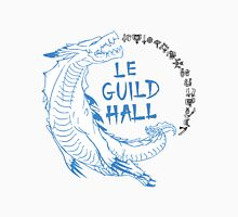 Monster Hunter Le Guild Hall-Lagiacrus Version 1 Uncolored Unisex T-Shirt