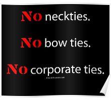 No Ties Poster