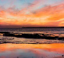 Queenscliff Sunset Vertical by ericrmc