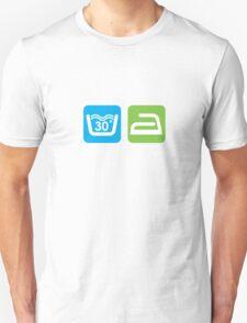 WASHING SYMBOLS T-Shirt