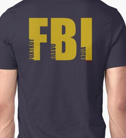FBI (NATO phonetic) Unisex T-Shirt