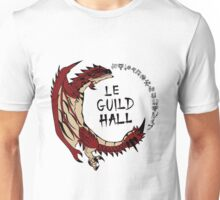 Monster Hunter Le Guild Hall-Rathalos Version 2 Base Colors Unisex T-Shirt