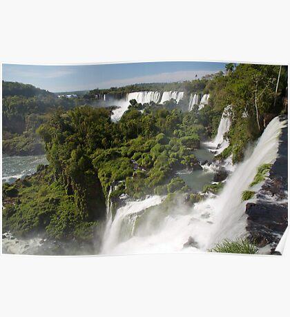 Iguazu Falls - Argentina Poster