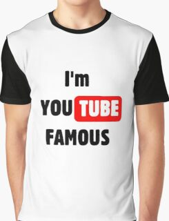 You tube Famous Graphic T-Shirt