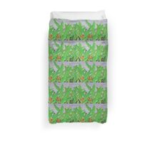 Thai leaves blowing in the Breeze. Duvet Cover