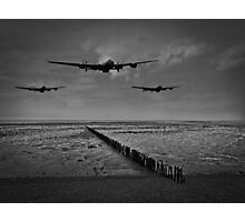 Enemy coast ahead, skipper - black and white version Photographic Print