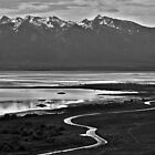 On the Road to Fielding Garr Ranch, Antelope Island, UT by drdvde