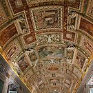 Gallery Ceiling - Vatican Museum - Rome by Samantha Higgs