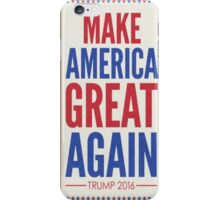 Donald Trump Trumpstika Campaign Logo iPhone Case/Skin
