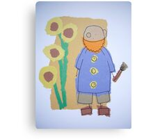 Little Artists: Van Gogh Canvas Print