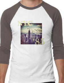 New York 85 Men's Baseball ¾ T-Shirt