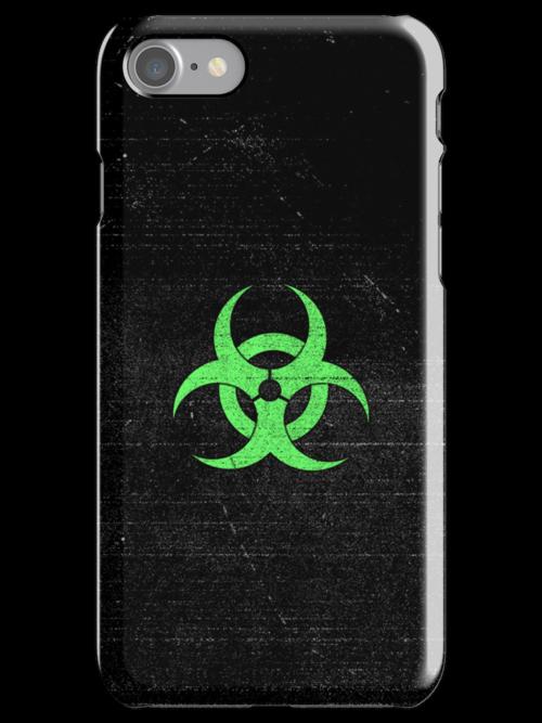 Corrosive iPhone case by Ki Rogovin