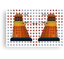 Dalek  Valentines Canvas Print