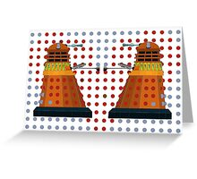 Dalek  Valentines Greeting Card