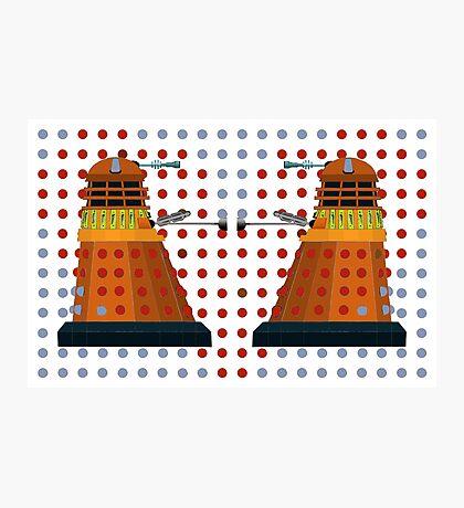 Dalek  Valentines Photographic Print