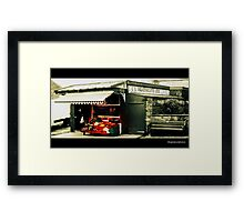 JJJ Heathcote Family Butchers Framed Print