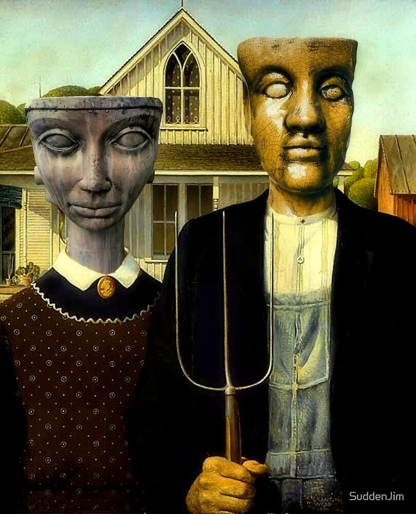 Flathead Gothic by SuddenJim