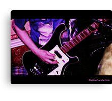 Bass Guitar Canvas Print
