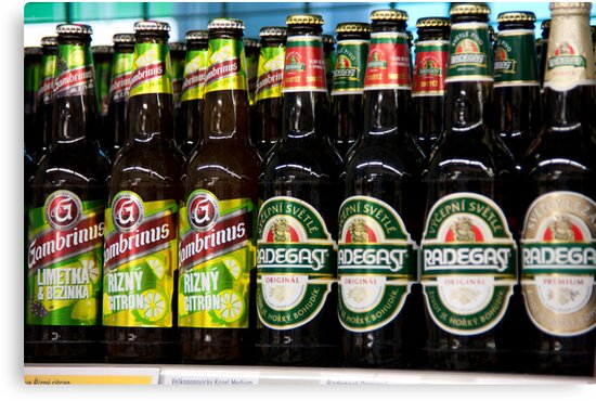 Czech Beer by phil decocco