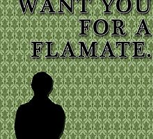 I'd want you for a flatmate. by KaterinaSH