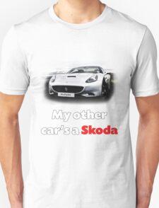 Ferrari or Skoda :-) Unisex T-Shirt