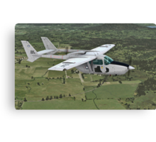 Cessna O-2 Skymaster Canvas Print