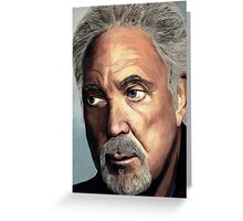Tom Jones Greeting Card
