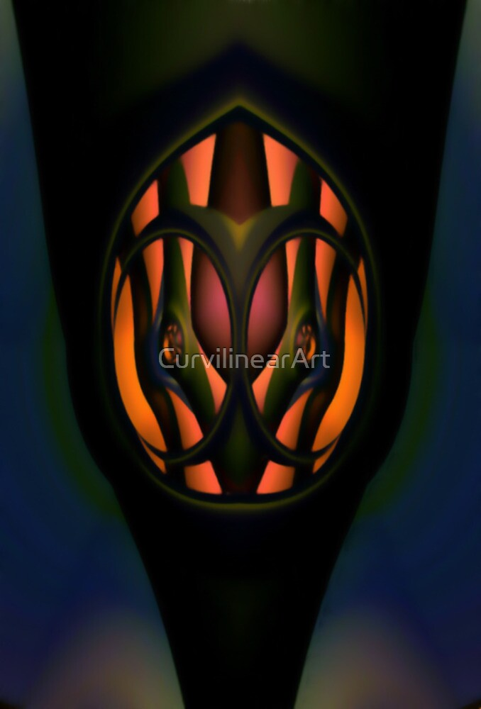 Curvilinear Project No. 32  ( Mirror, Mirror... ) by CurvilinearArt