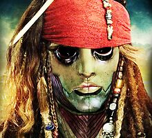 Thane Krios as Jack Sparrow by hotanime