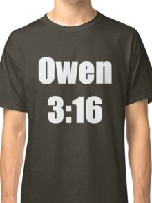 Owen 3:16 Classic T-Shirt