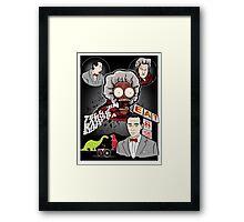 Tell em' Large Marge Sent Ya! Framed Print