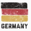 German Flag (Vintage) by Look Human