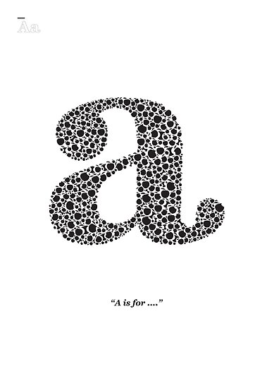 A is for... by Gordon Bonnar