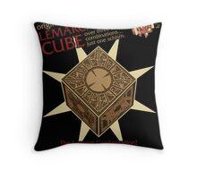 Lemarchand's Cube - Hellraiser Throw Pillow