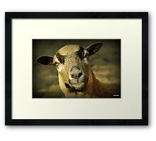 I am Mrs Cameroon Framed Print