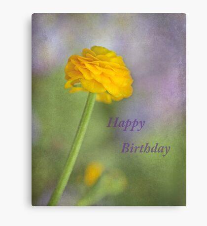 Happy Birthday Viv ~ Canvas Print