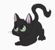 Little Black Cat by davuu