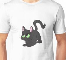 Little Black Cat Unisex T-Shirt