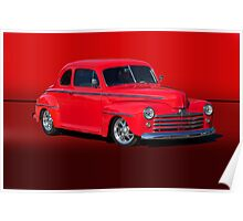 1947 Ford Super Deluxe Coupe w/o ID Poster