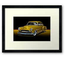 1950 Chevrolet Fleetline Custom w/o ID Framed Print
